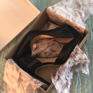 Black Pheona Heels